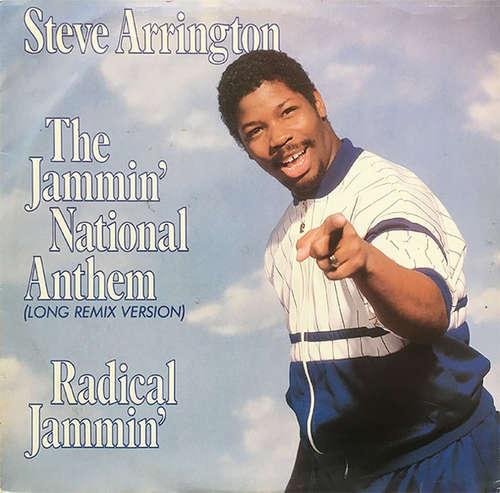 Bild Steve Arrington - The Jammin' National Anthem (Long Remix Version) (12) Schallplatten Ankauf