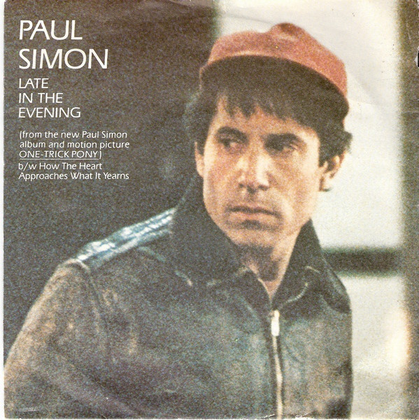Cover Paul Simon - Late In The Evening (7, Single) Schallplatten Ankauf