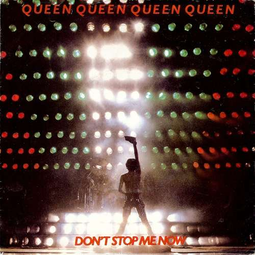Cover zu Queen - Don't Stop Me Now (7, Single) Schallplatten Ankauf