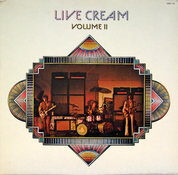 Bild Cream (2) - Live Cream Volume II (LP, Album) Schallplatten Ankauf