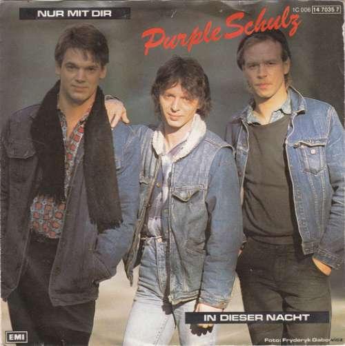 Bild Purple Schulz - Nur Mit Dir (7, Single) Schallplatten Ankauf