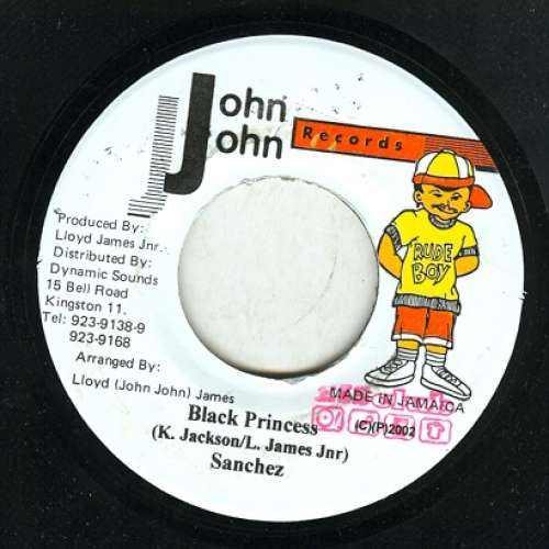 Cover Sanchez - Black Princess (7) Schallplatten Ankauf