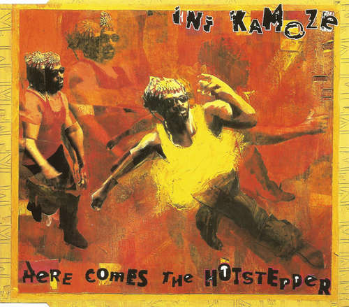 Cover Ini Kamoze - Here Comes The Hotstepper (CD, Maxi) Schallplatten Ankauf