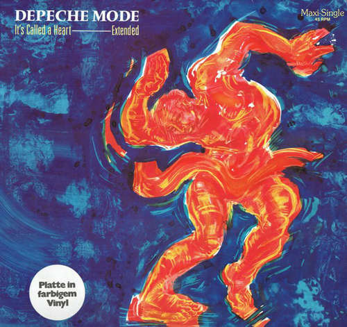 Cover Depeche Mode - It's Called A Heart (Extended) (12, Maxi, Blu) Schallplatten Ankauf