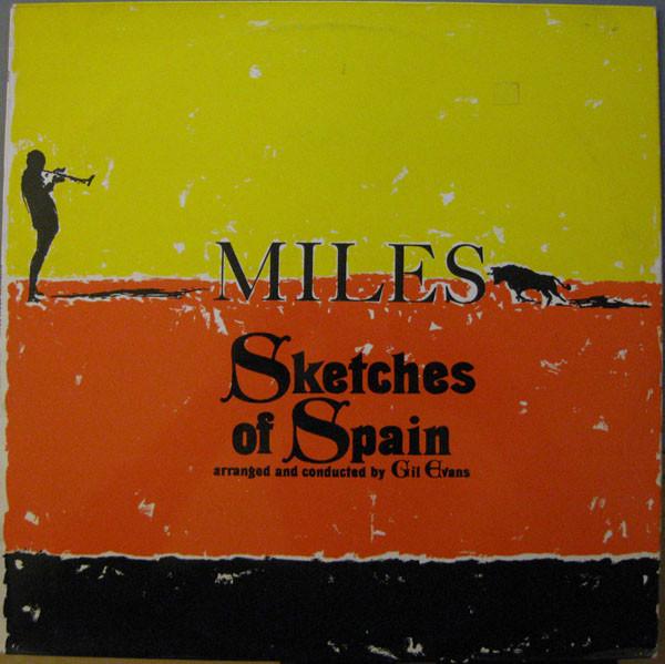Cover zu Miles Davis - Sketches Of Spain (LP, Album, RE) Schallplatten Ankauf