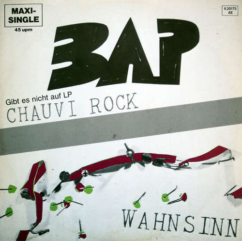 Bild BAP - Chauvi Rock / Wahnsinn (12, Maxi) Schallplatten Ankauf