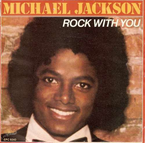 Cover Michael Jackson - Rock With You (7, Single) Schallplatten Ankauf