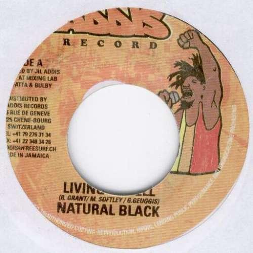 Bild Natural Black - Living In Hell (7) Schallplatten Ankauf