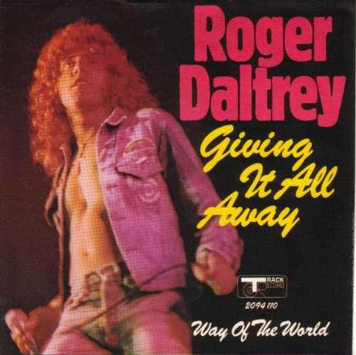 Bild Roger Daltrey - Giving It All Away (7) Schallplatten Ankauf