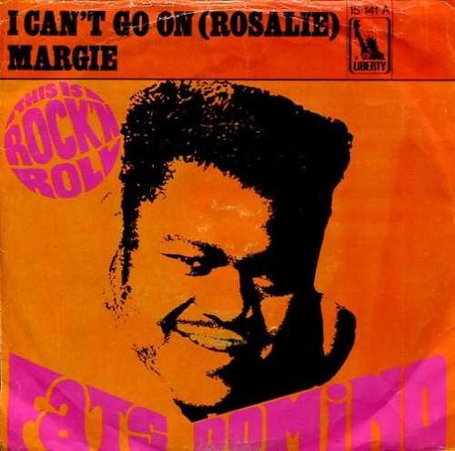Bild Fats Domino - I Can't Go On (Rosalie) / Margie (7, Single) Schallplatten Ankauf