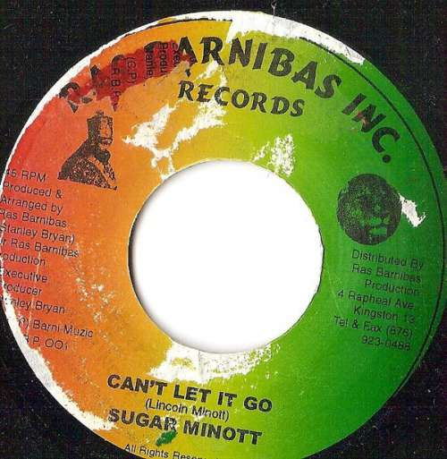 Bild Sugar Minott - Can't Let It Go (7) Schallplatten Ankauf