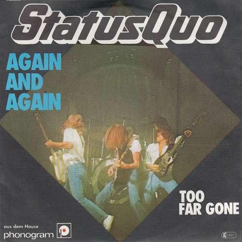 Bild Status Quo - Again And Again (7, Single) Schallplatten Ankauf