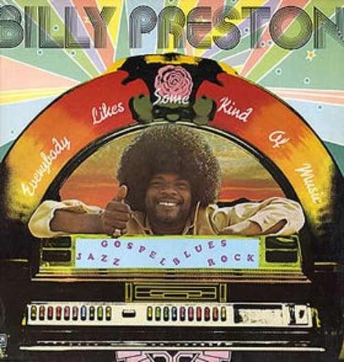 Cover Billy Preston - Everybody Likes Some Kind Of Music (LP) Schallplatten Ankauf