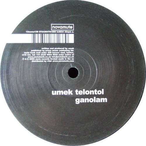Cover zu Umek - Telontol (12) Schallplatten Ankauf