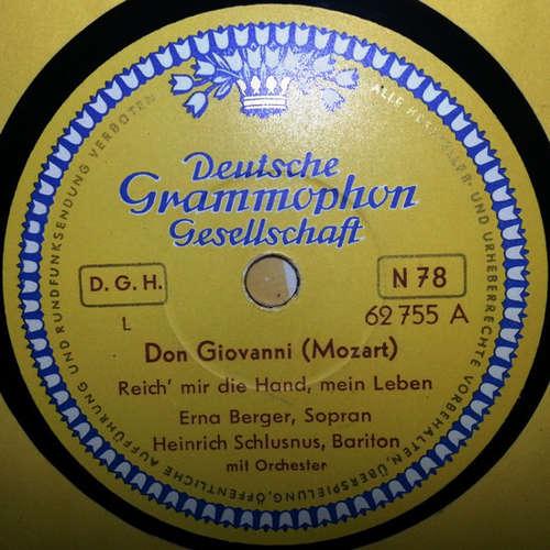 Bild Erna Berger -  Heinrich Schlusnus  /  Viorica Ursuleac U. Erna Berger - Don Giovanni / Figaros Hochzeit (Shellac, 10) Schallplatten Ankauf