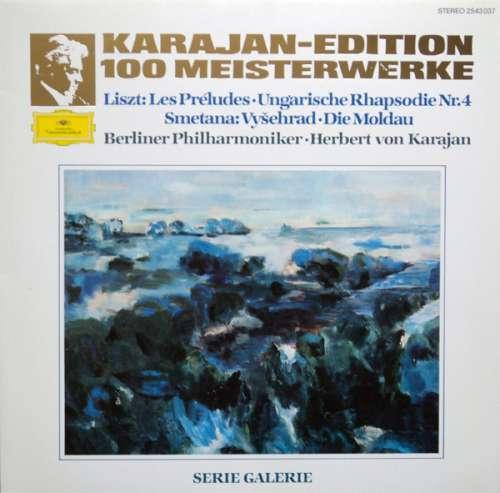 Bild Liszt* - Smetana* - Berliner Philharmoniker - Herbert von Karajan - Les Préludes - Ungarische Rhapsodie Nr. 4 - Vyšehrad - Die Moldau (LP) Schallplatten Ankauf