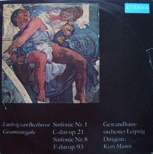 Bild Ludwig van Beethoven - Gewandhausorchester Leipzig, Kurt Masur - Sinfonie Nr. 1, Sinfonie Nr. 8 (LP) Schallplatten Ankauf
