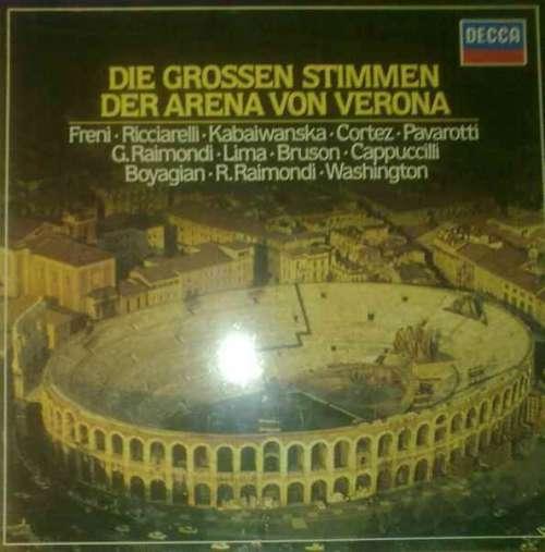 Cover zu Various - Die Grossen Stimmen Der Arena Von Verona (3xLP) Schallplatten Ankauf