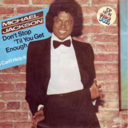 Cover zu Michael Jackson - Don't Stop Til You Get Enough (7, Single) Schallplatten Ankauf