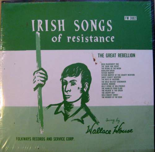 Bild Wallace House - Irish Songs of Resistance (LP) Schallplatten Ankauf