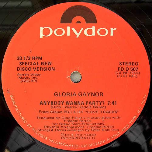 Bild Gloria Gaynor - Anybody Wanna Party? (12, 16 ) Schallplatten Ankauf