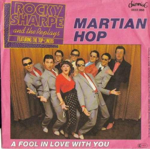 Bild Rocky Sharpe & The Replays Featuring The Top Liners - Martian Hop (7, Single) Schallplatten Ankauf