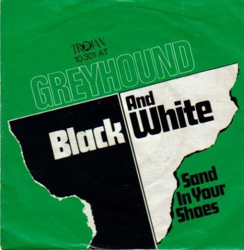 Cover Greyhound (4) - Black And White (7, Single) Schallplatten Ankauf