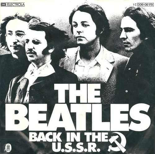 Cover zu The Beatles - Back In The U.S.S.R. (7, Single) Schallplatten Ankauf