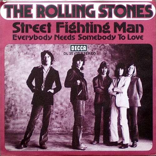 Cover The Rolling Stones - Street Fighting Man (7, Single) Schallplatten Ankauf