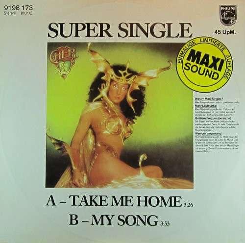 Cover Cher - Take Me Home (12, Maxi) Schallplatten Ankauf