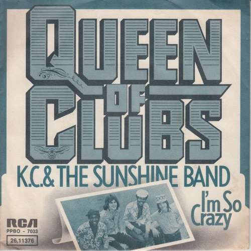 Cover KC & The Sunshine Band - Queen Of Clubs (7, Single) Schallplatten Ankauf