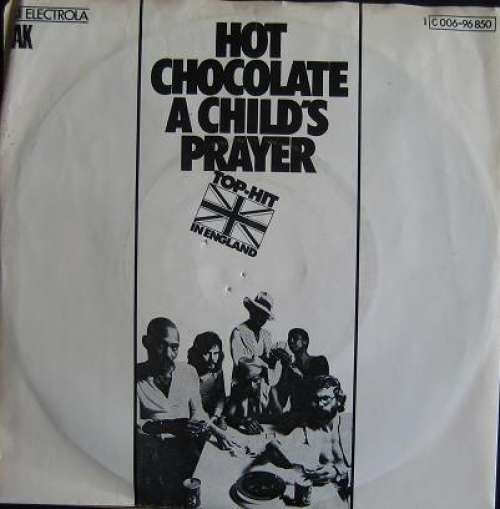 Cover zu Hot Chocolate - A Child's Prayer (7, Single) Schallplatten Ankauf