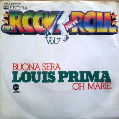 Bild Louis Prima - Buona Sera / Oh Marie (7, RE) Schallplatten Ankauf