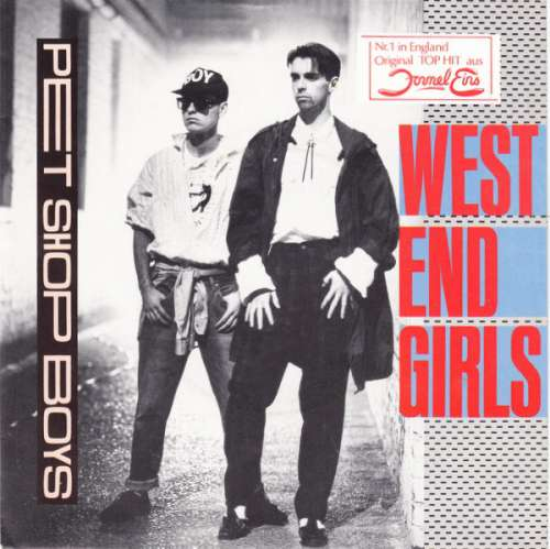Cover Pet Shop Boys - West End Girls (7, Single) Schallplatten Ankauf