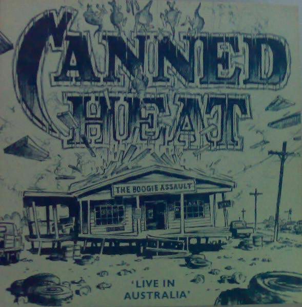 Cover zu Canned Heat - The Boogie Assault (Greatest Hits Live In Australia) (LP, Album) Schallplatten Ankauf