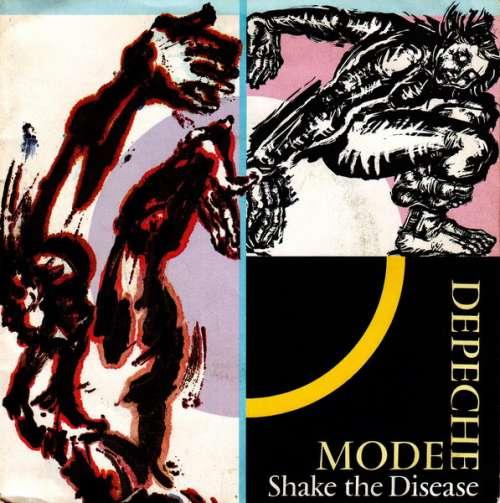 Cover zu Depeche Mode - Shake The Disease (7, Single) Schallplatten Ankauf