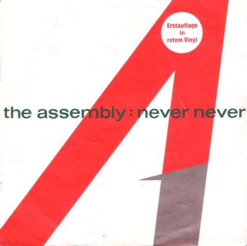 Bild The Assembly - Never Never (7, Single, Red) Schallplatten Ankauf