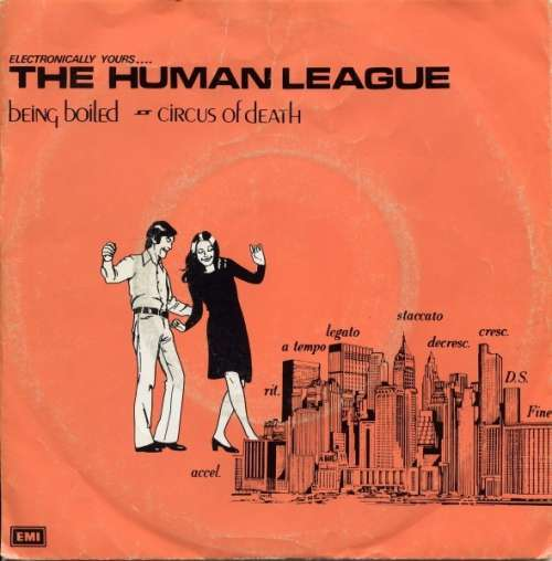 Cover The Human League - Being Boiled / Circus Of Death (7, Single, RE) Schallplatten Ankauf