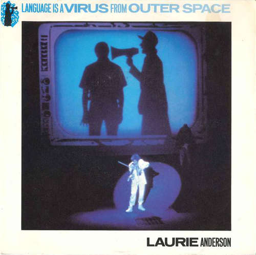Cover Laurie Anderson - Language Is A Virus From Outer Space (7, Single) Schallplatten Ankauf