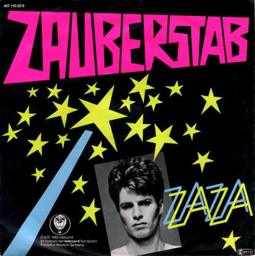Cover zu ZaZa* - Zauberstab (7, Single) Schallplatten Ankauf