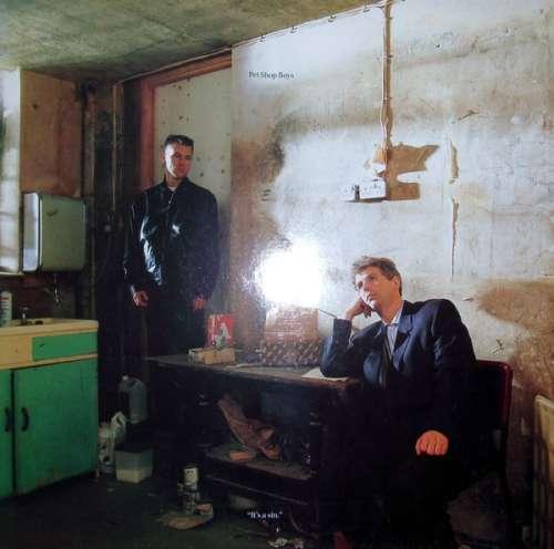 Cover Pet Shop Boys - It's A Sin (12, Maxi) Schallplatten Ankauf