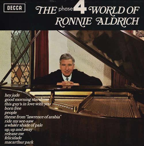 Cover zu Ronnie Aldrich - The Phase 4 World Of Ronnie Aldrich (LP, Comp) Schallplatten Ankauf