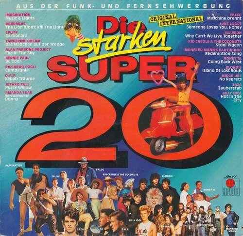 Cover Various - Die Starken Super 20 (LP, Comp) Schallplatten Ankauf