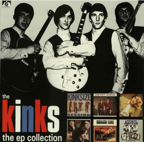 Cover The Kinks - The EP Collection (LP, Comp, Mono) Schallplatten Ankauf
