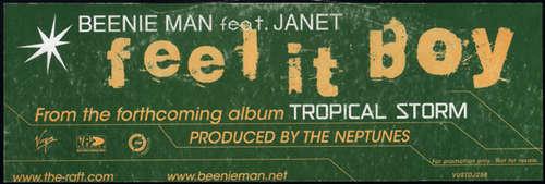 Cover Beenie Man Feat. Janet* - Feel It Boy (12, Promo) Schallplatten Ankauf