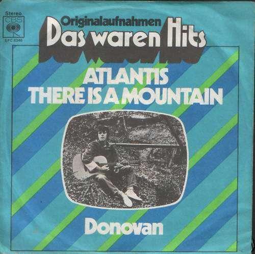 Bild Donovan - Atlantis / There Is A Mountain (7) Schallplatten Ankauf