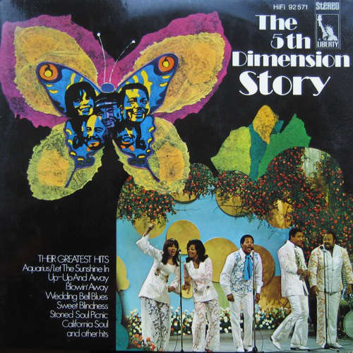 Cover The 5th Dimension* - The 5th Dimension Story (2xLP, Comp, Gat) Schallplatten Ankauf