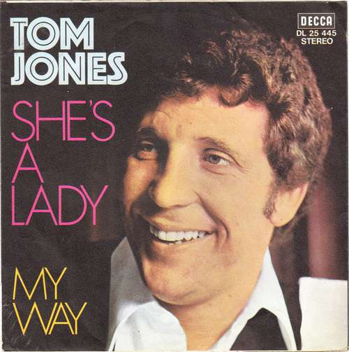 Bild Tom Jones - She's A Lady (7, Single) Schallplatten Ankauf