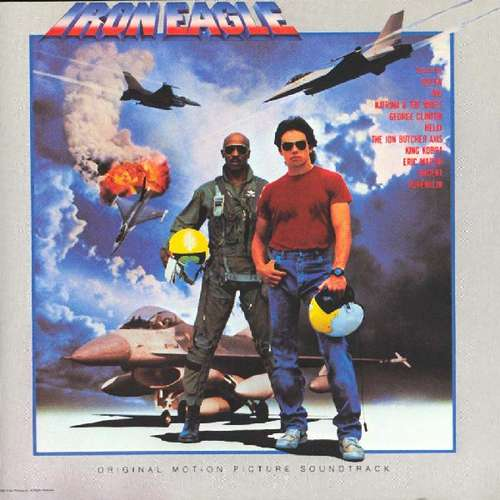 Bild Various - Iron Eagle (Original Motion Picture Soundtrack) (LP, Comp) Schallplatten Ankauf