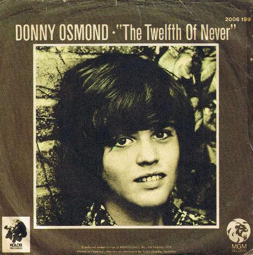 Bild Donny Osmond - The Twelfth Of Never (7, Single) Schallplatten Ankauf
